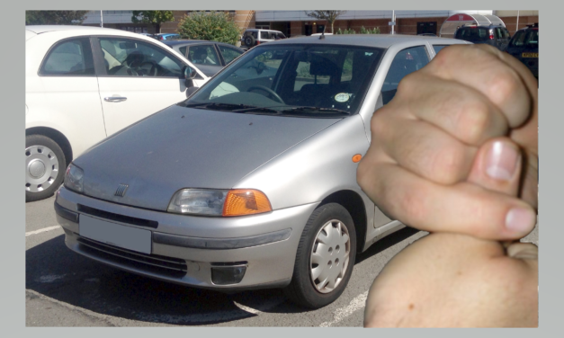 Local Warden Loses Finger in Fiat Punto Fandango
